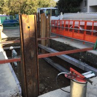 浄化槽設置施工手順の紹介-2:山留工事